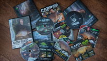 A selection of Fishing DVDs
