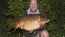 27lb Mirror Carp my biggest carp so far from Selby 3 Lakes syndicate