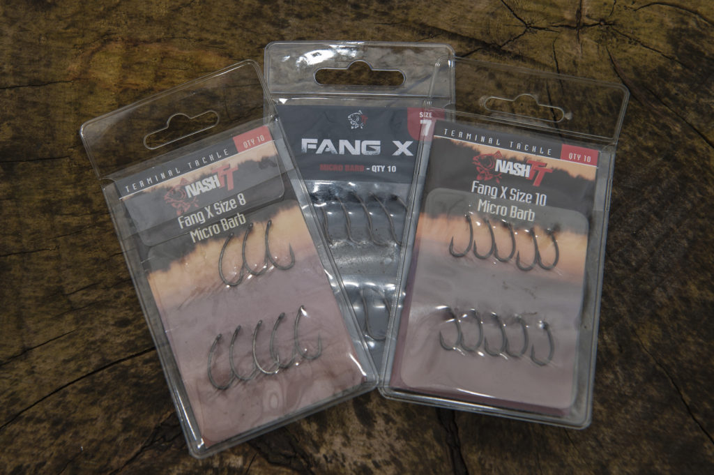 Nash Fang X And Twister hooks